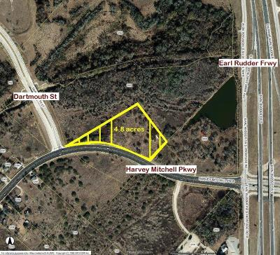 College Station TX Residential Lots & Land For Sale: $1,050,000