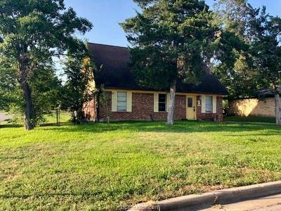 Bryan , College Station Single Family Home For Sale: 1700 Dillon