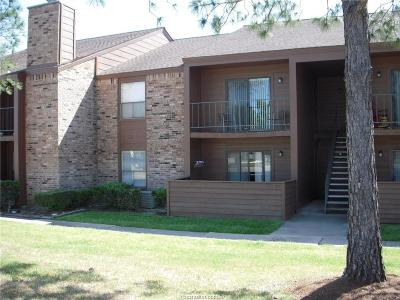 College Station TX Condo/Townhouse For Sale: $89,900
