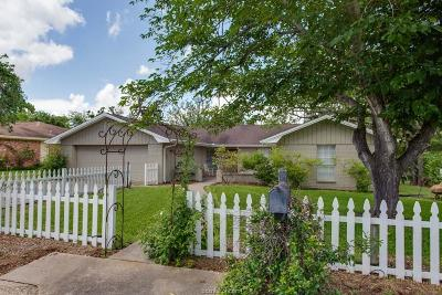 Bryan Single Family Home For Sale: 2302 Oxford Street