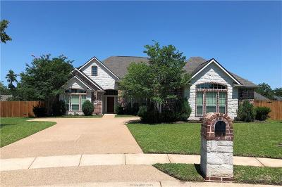 Bryan , College Station Single Family Home For Sale: 1617 Mariners Cove