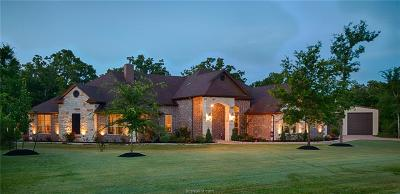 College Station TX Single Family Home For Sale: $565,000