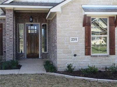College Station Single Family Home For Sale: 2715 Talsworth Drive