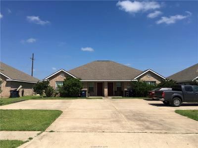 Brazos County Multi Family Home For Sale: 3504-3506 Paloma Ridge Drive