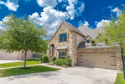 College Station Single Family Home For Sale: 2412 Stone Castle