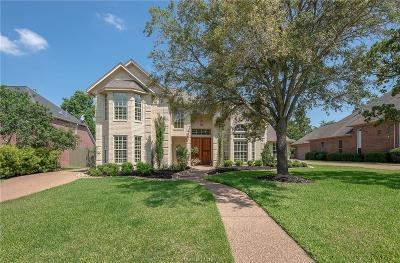 Bryan Single Family Home For Sale: 4732 Renwick Drive