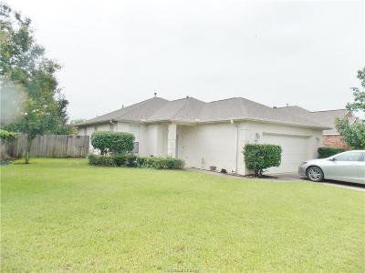 Brazos County Single Family Home For Sale: 2628 Trophy Drive