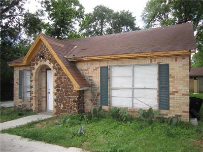 Bryan Single Family Home For Sale: 302 West Duncan Street