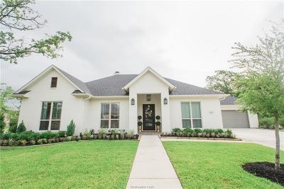 College Station Single Family Home For Sale: 5201 Flint Hills Drive