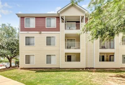 College Station Condo/Townhouse For Sale: 515 Southwest #204