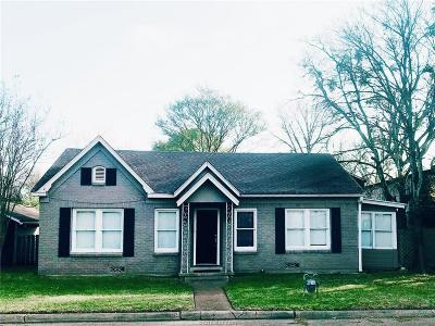 Bryan , College Station Single Family Home For Sale: 504 East 32nd Street