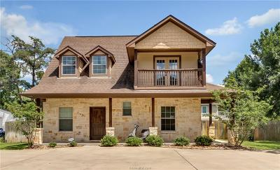College Station Single Family Home For Sale: 204 Fidelity Street