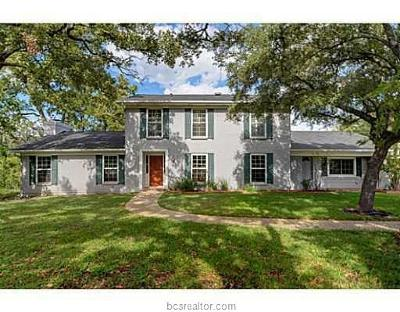 Bryan Single Family Home For Sale: 3613 Sunnybrook Lane