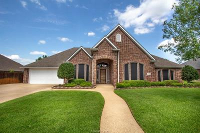 Bryan Single Family Home For Sale: 3710 Williams Trace Drive