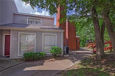 College Station Condo/Townhouse For Sale: 1500 Olympia #27