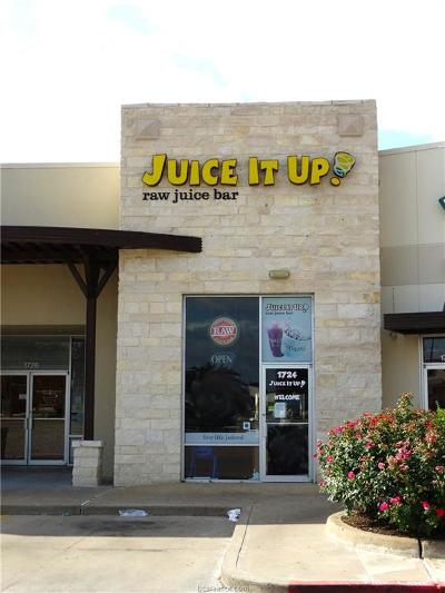 College Station Commercial For Sale: 1724 Rock Prairie Road