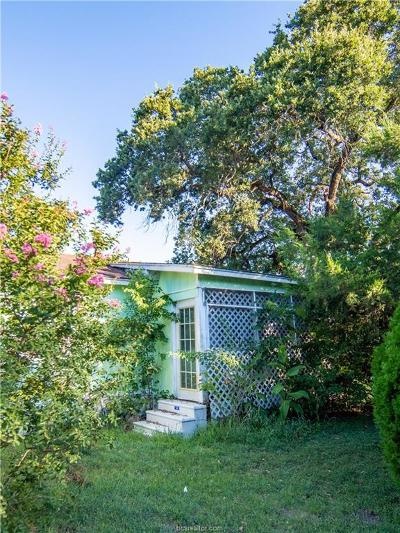 Bryan Single Family Home For Sale: 411 Tatum Street