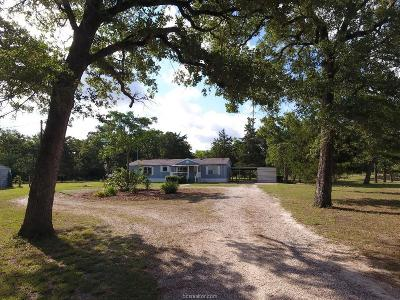 Burleson County Single Family Home For Sale: 1335 Deer Point Road
