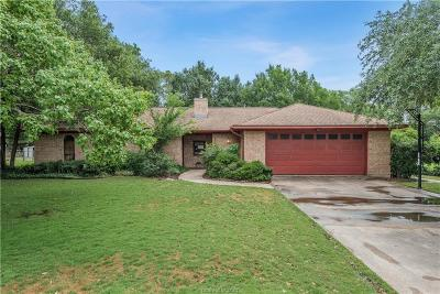 College Station Single Family Home For Sale: 1805 Southwood Drive