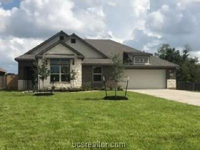Bryan Single Family Home For Sale: 3408 Lockett Hall Circle