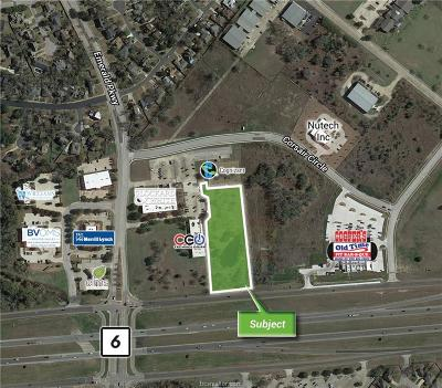 College Station Residential Lots & Land For Sale: 3009 Earl Rudder