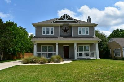 College Station Single Family Home For Sale: 1101 Foster
