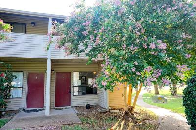 College Station TX Condo/Townhouse For Sale: $109,500