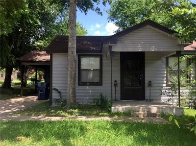 Bryan , College Station  Single Family Home For Sale: 603 Lincoln