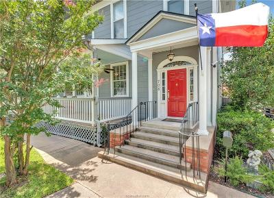 Brazos County Single Family Home For Sale: 708 South Bryan