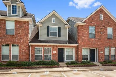 College Station Condo/Townhouse For Sale: 1001 Krenek Tap Road #802