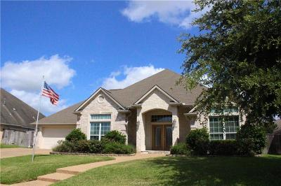 College Station Single Family Home For Sale: 309 Agate Drive