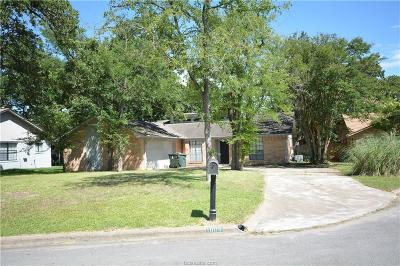 Bryan Single Family Home For Sale: 1005 Crestwood Drive