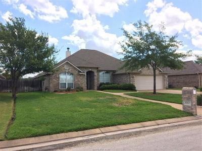 Bryan Single Family Home For Sale: 4907 Park Hampton Drive