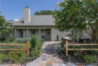 Bryan Single Family Home For Sale: 727 North Rosemary Drive