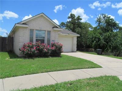 Bryan TX Single Family Home For Sale: $185,000