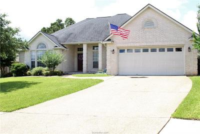 Bryan , College Station  Single Family Home For Sale: 2306 East Mercers Landing