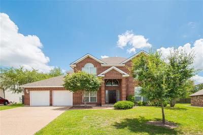 College Station Single Family Home For Sale: 1611 Leopard Lane