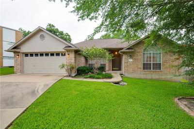 Bryan , College Station  Single Family Home For Sale: 8602 Jade Court