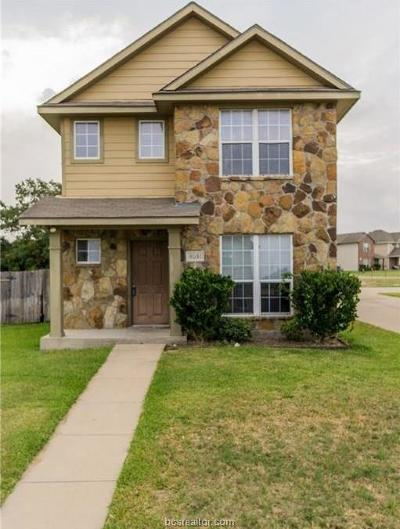 College Station TX Single Family Home For Sale: $188,000
