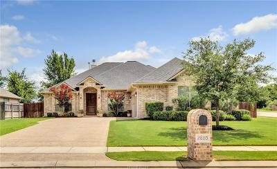 Bryan Single Family Home For Sale: 2800 Althea Court