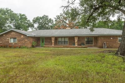 Burleson County Single Family Home For Sale: 2764 Pin Oak Lane