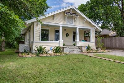 Bryan , College Station  Single Family Home For Sale: 705 South Bryan Avenue
