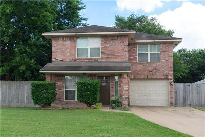 Bryan Single Family Home For Sale: 1516 Prairie Drive