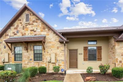 College Station TX Condo/Townhouse For Sale: $180,000