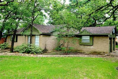 Brazos County Single Family Home For Sale: 1100 Berkeley Street