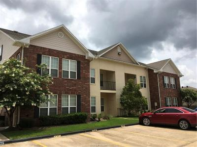 College Station Condo/Townhouse For Sale: 801 Luther Street #1001