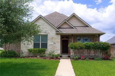 College Station Single Family Home For Sale: 3916 Tournay Lane