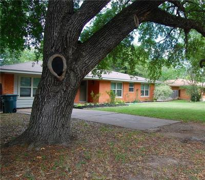 Bryan , College Station  Single Family Home For Sale: 3803 Oakwood Street