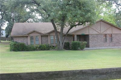 Hearne Single Family Home For Sale: 11091 Hummingbird Ln