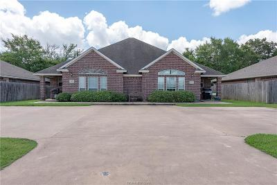 Bryan , College Station Multi Family Home For Sale: 1433-1435 Western Oaks Court